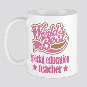 Special Education Teacher Gift (Worlds Best) Mug